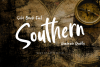 Southern | Solid Brush Font example image 1