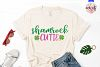 Shamrock cutie - St. Patrick's Day SVG EPS DXF PNG example image 2