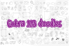 The Cuties Bundle - Fonts with Doodles - example image 6