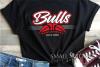 Bull, Bull Basketball, Sport, Design, PRINT, CUT, DESIGN example image 1