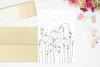 Light Flower Doodle Art, A1, SVG example image 4