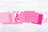 Pink Breast Cancer Awareness Digital Paper example image 6