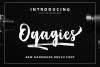 Oqagies Brush + Bonus example image 1
