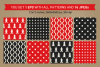 16 Christmas Seamless Patterns example image 3