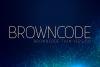 Browncode Thin Versionl Elegant font sans serif example image 1