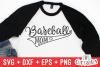 Baseball Mom | SVG Cut File example image 1