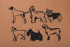 Dog Shapes SVG - Dog Doodles for Cricut example image 3
