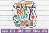 Watch Out Pre-K Here I Come SVG Cut File example image 1