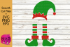 Christmas Elf - Add Your Own Text Template - SVG, EPs, PNG example image 1