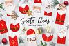 Santa Claus tags and cards example image 1