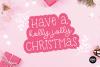 CHRISTMAS MISTLETOE a Script - Serif Christmas Font Duo example image 3