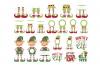 Elf SVG Bundle Monogram Quotes in SVG, DXF, PNG, EPS, JPEG example image 1