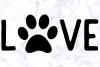 Love Dog Paw SVG | Dog Lover SVG | Dog Paw SVG example image 3