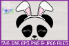 Easter | Panda Face SVG Cut File example image 3