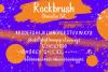 Rockbrush Marker Font example image 7