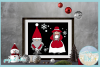 Mr and Mrs Gnome SVG Dxf Eps Png PDF Files for Cricut example image 2
