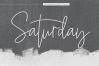 Saturday - Signature Script Font example image 10