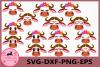 Buffalo Eyelashes Svg,Buffalo face SVG, Safari Animal face example image 1