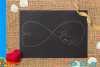 Infinity Love Single Line SVG | Single Line SVG |Foil Quill example image 2