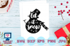 snowman svg, let it snow svg, christmas svg, winter svg example image 1