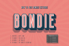 Bondie Extrude Font Family example image 1