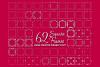 Square Frames Dingbat Font example image 1