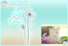 A Wish Is The Start Of A Dream Quote Dandelion SVG example image 1