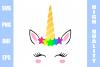 Unicorn SVG PNG DXF EPS  example image 1