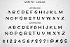 Quintsy: casual alphabet