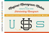 Magical Monogram Maker - DIY intertwined/interlocking SVG example image 1