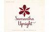 Samantha Script Upright Bold example image 3