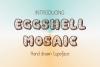 Eggshell Mosaic font example image 3