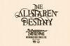 The Alistaren Font example image 3