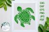 Nautical Mandala Bundle, Whale, Mermaid, Turtle, Starfish example image 5