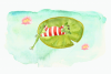 Watercolor Frogs Clip Art Set example image 4