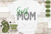 Golf Mom & Bonus Team Mom Sports SVG Cut File example image 1