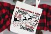 Christmas svg - Christmas sign ideas - sleigh svg - Holiday example image 2