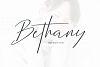 Bethany Script example image 1