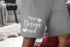 Men's Boxer Shorts Mockup for Valentine Designs 3.2 Aspect example image 2
