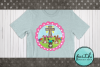 EASTER - Cross and Bunnies - Pink Frame, pdf, png example image 2
