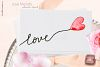 Love melody. Watercolor clipart example image 9
