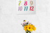 Wall Calendar 2020 Letter & Poster Size Printable PDF PNG example image 7