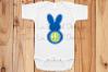 Bunny Monogram Frame example image 3