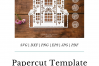 Intricate House No.1 - SVG EPS DXF PNG PDF JPG Cut File example image 8