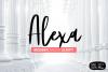 Alexa Modern Brush Script example image 1