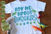Ask Me About Dinosaurs SVG example image 1