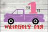 Valentine truck svg - truck SVG - Valentine truck WITH HEART example image 5