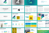Four Business Powerpoint Presentation Template example image 2
