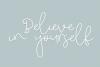 Monday Blues - Fun Handwritten Script Font example image 5