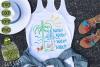 Wine Wine Seagull Beach SVG Cut File example image 1